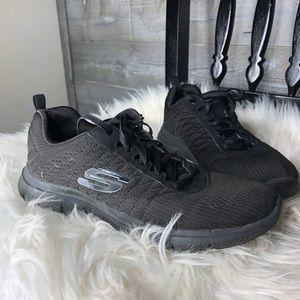 Skechers Dual lite memory foam work sneakers